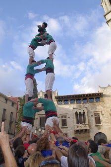 Castellers de lo Prado - td6 - Vilafranca del Penedès 25-08-2012