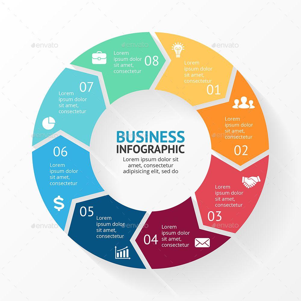 8 Steps Infographics. PSD, EPS, AI. Preview GraphicRiver