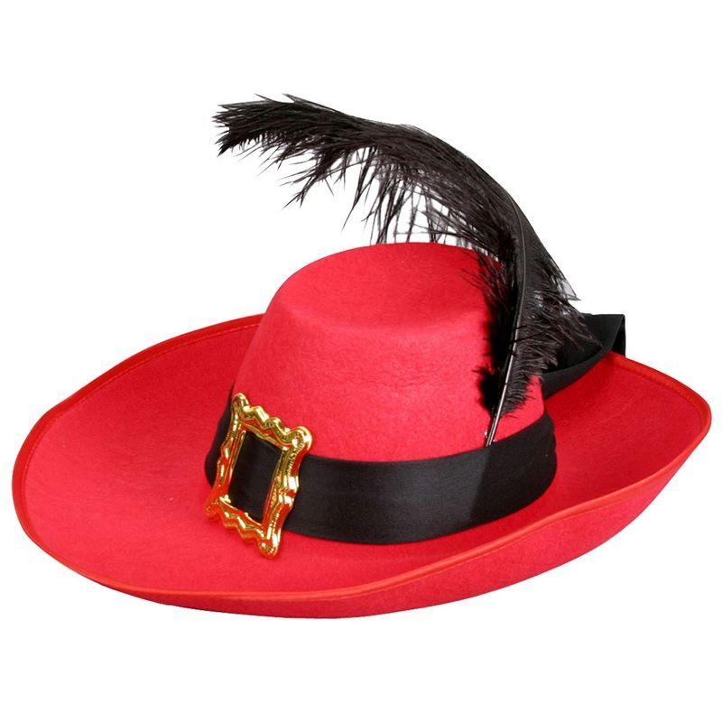 b998c0e85a45c Sombrero de Mosquetero  sombrerosdisfraz  accesoriosdisfraz   accesoriosphotocall