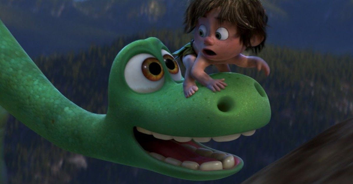 "The Good Dinosaur Cartoon Movie Silk Poster 12x18/"" 24x36/"" Dragon 003"