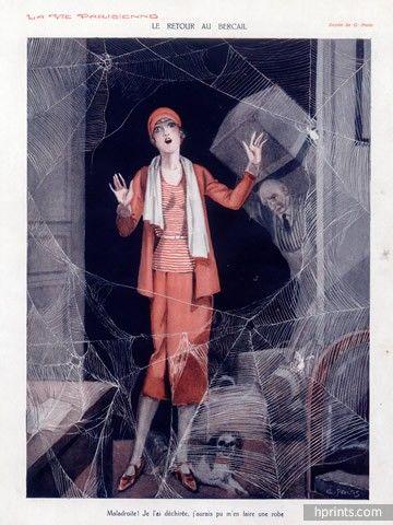 Georges Pavis (1886 – 1977). La Vie Parisienne, 1930. [Pinned 18-xi-2015]