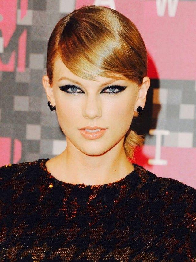 Taylor swift выглядит счастливой