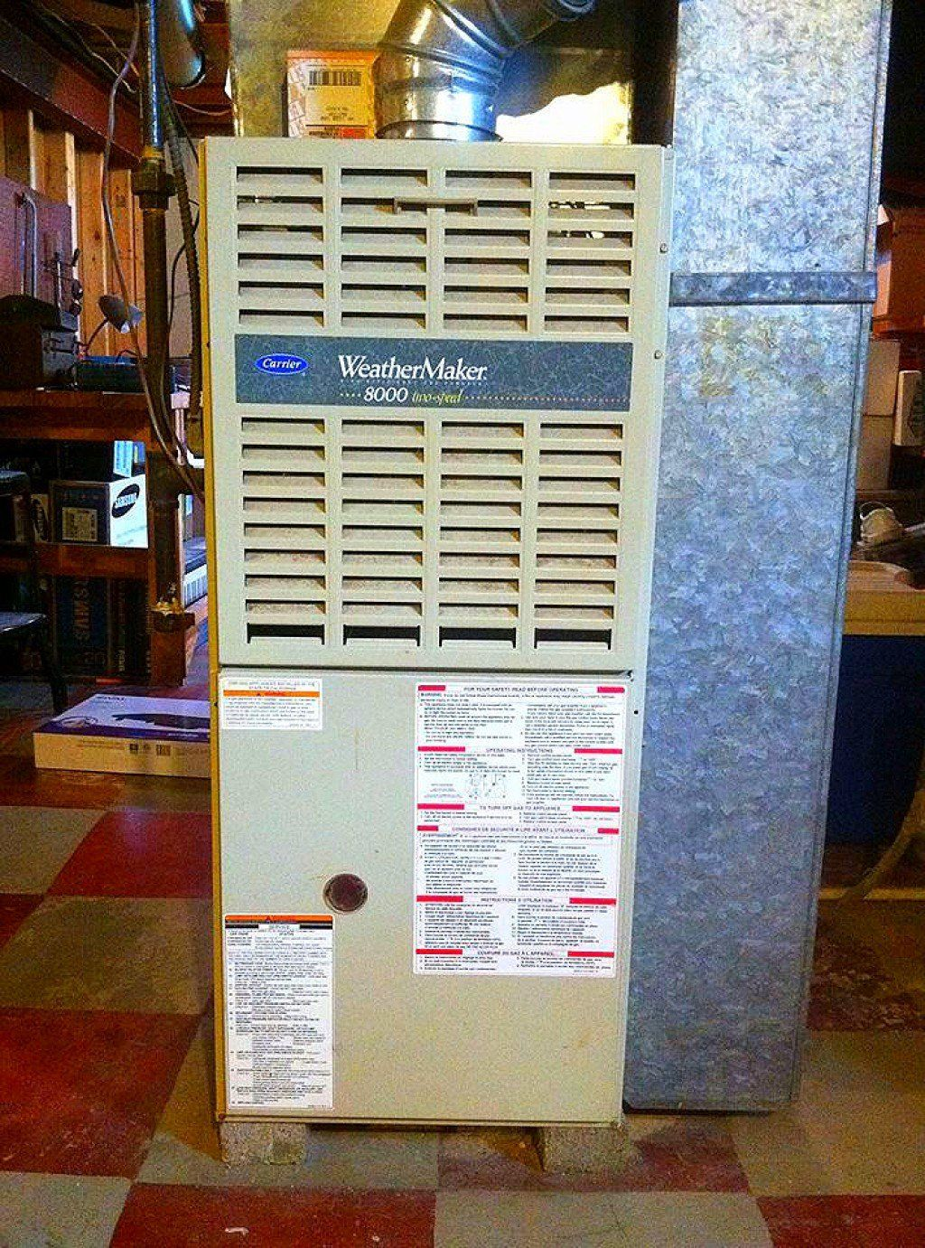 How to Quiet a Noisy Furnace Ventilation duct, Clean air