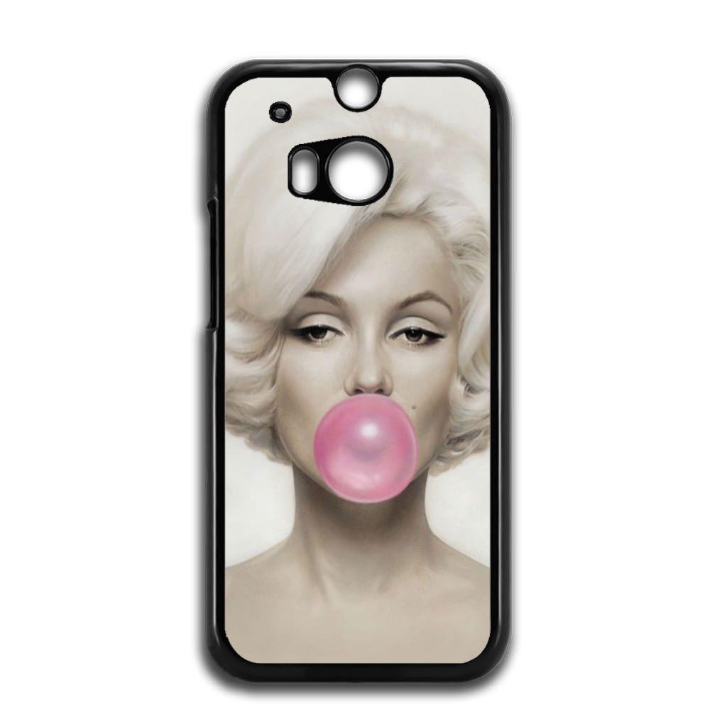 Marylin Monroe Bubblegum HTC One M8 Case