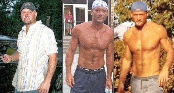 tim mcgraw weight loss