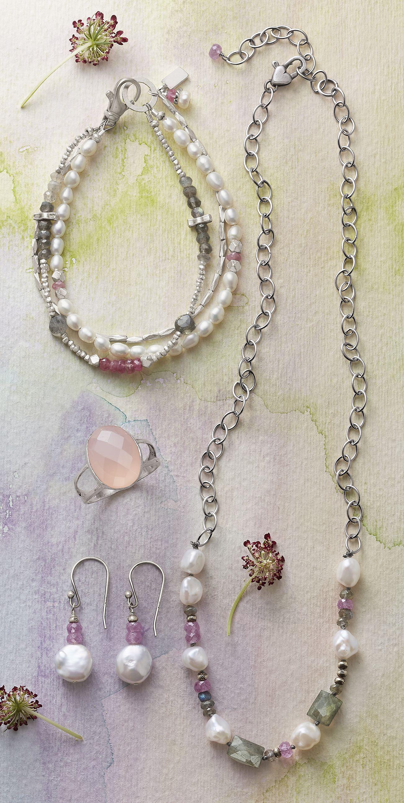 First Love Necklace Necklace, Earrings, & Bracelet  Luminous Glow