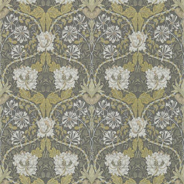 Morris & Co Honeysuckle & Tulip Wallpaper Craftsman