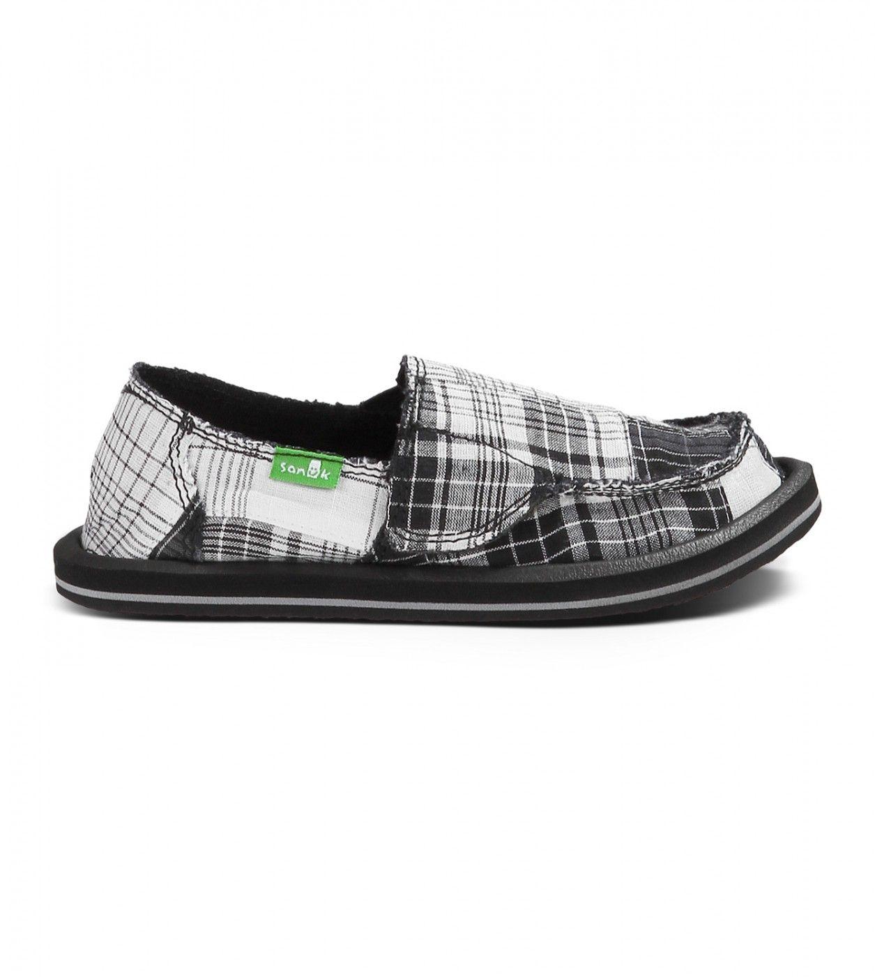 Zapatos rojos Sanuk infantiles vkX8JH
