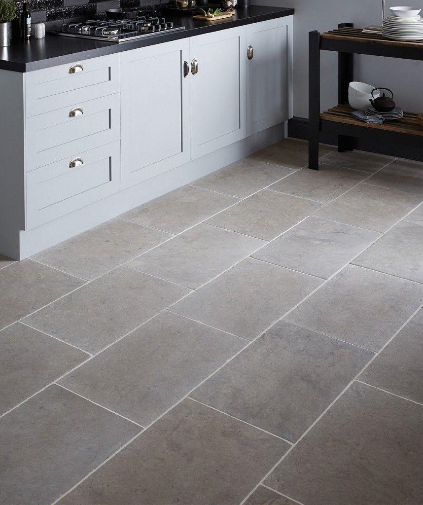 Dorsaf Tumbled Grey Tile Deco Maison Idees Pour La Maison Maison