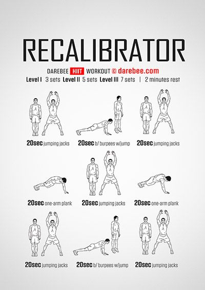 The Recalibrator Workout