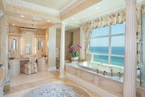 Girly Bathroom.