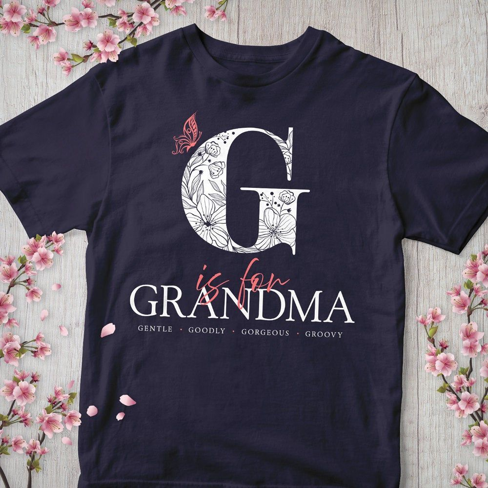 Grandma Shirt, G Is For Grandma, Grandmother Gift, Granny, Grandparents Day Gifts, Pregnancy Announcement Reveal Shirt #grandparentsdaygifts