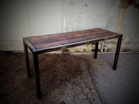 Tisch Industrial handgefertigter industrial tisch loft indastrial furniture