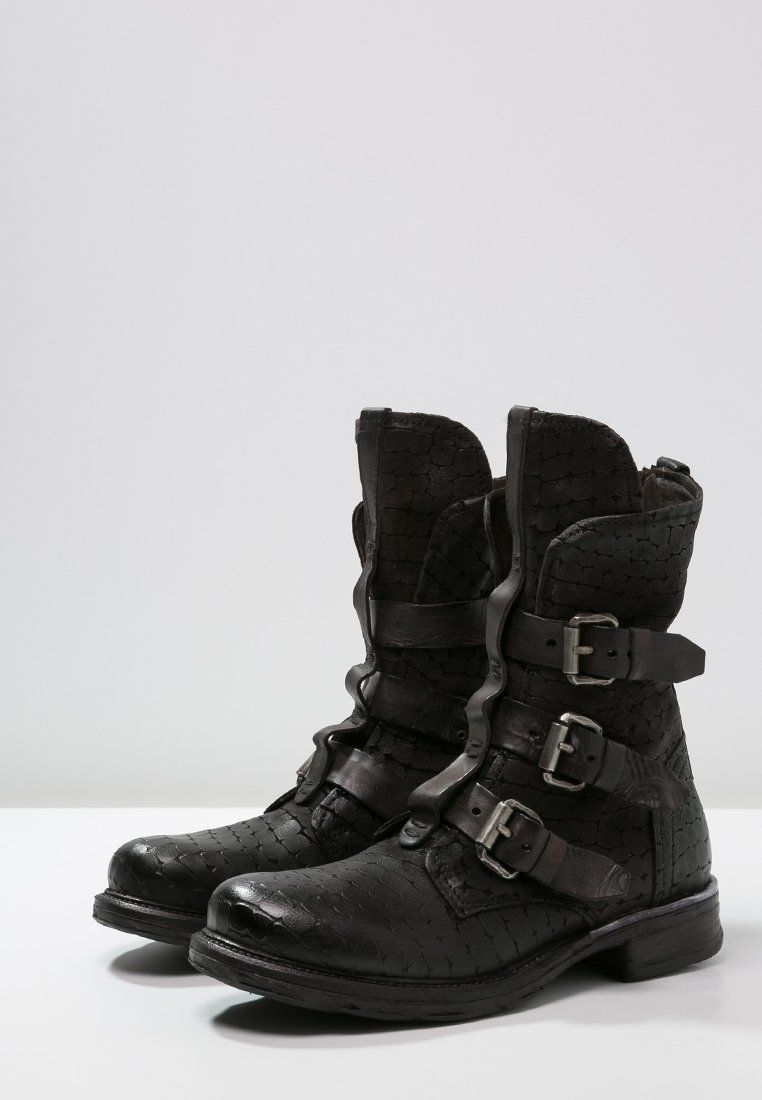 wholesale dealer 3d145 36a39 A.S.98 Cowboy-/ Bikerboot - nero - Zalando.ch | Boots ...