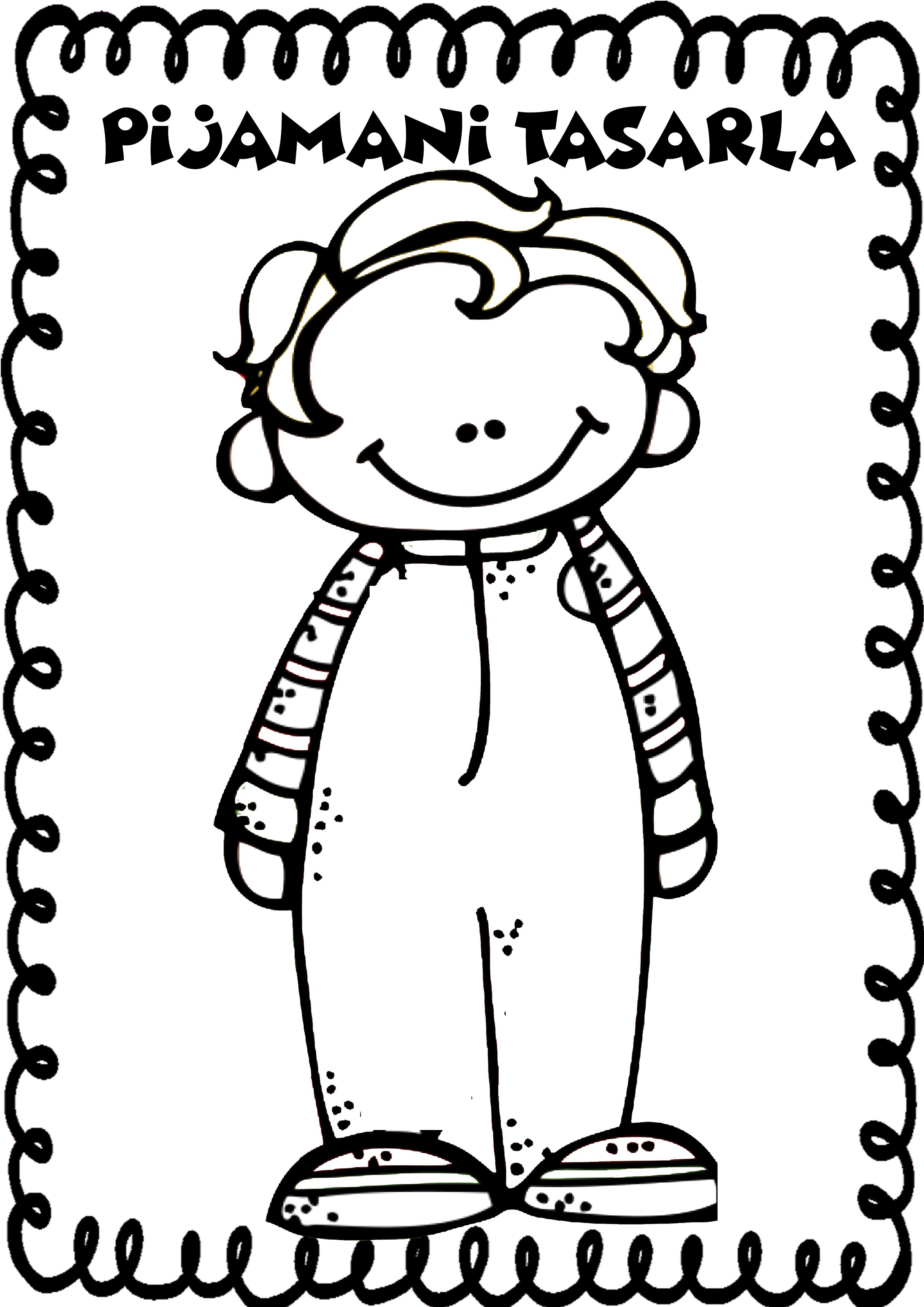 Pijama Partisi Panosundaki Pin