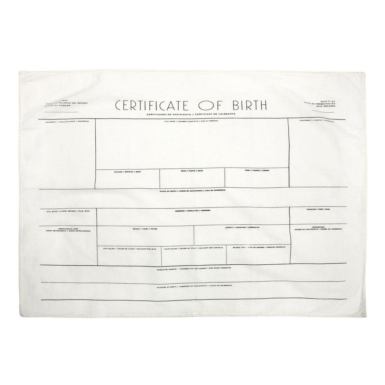 Vistoso Nacimiento Acelerada Certificado De California Foto - Cómo ...
