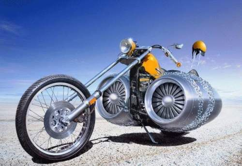 Jumbo Jet Motorbike Motorcycle Cool Bikes Motorbikes