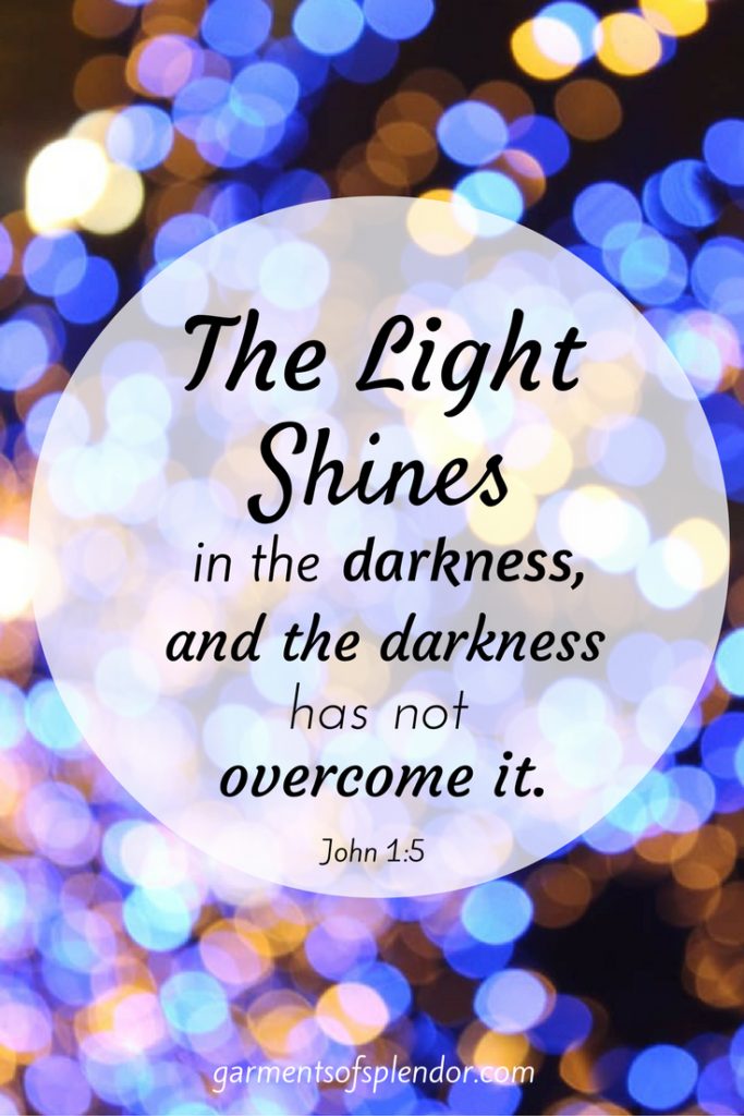 How To Move From Darkness To Shining Splendor Scripture Verses
