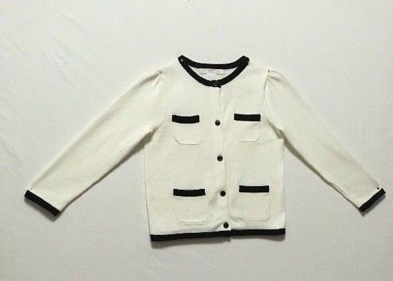 0dcd7df04bbd Janie   Jack Girls Size 3 Sweater White Holiday 100% Cotton Fall ...