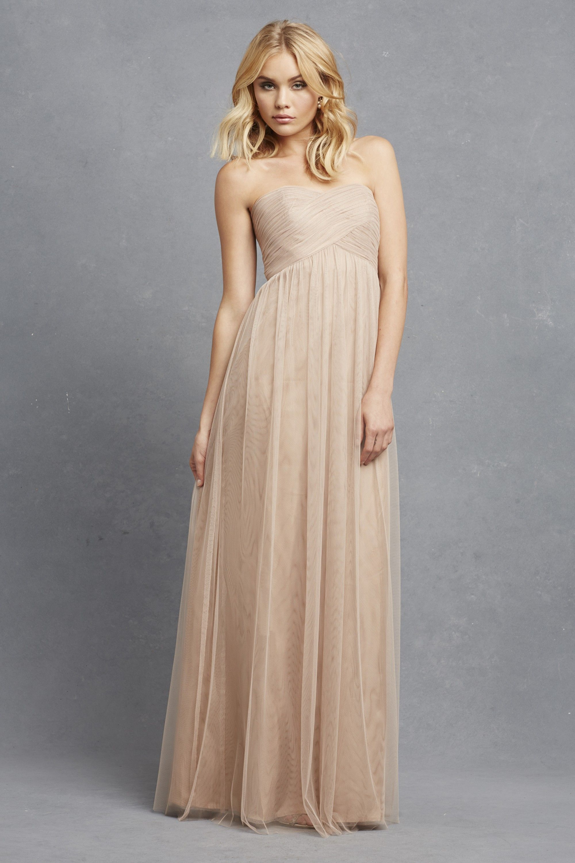 Donna morgan felicity in oyster neutral bridesmaids find this pin and more on neutral bridesmaids ombrellifo Choice Image
