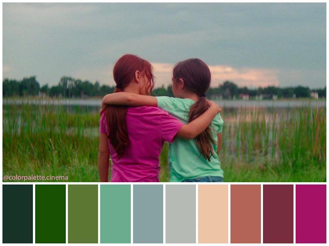 Color Palette Cinema On Instagram The Florida Project 2017