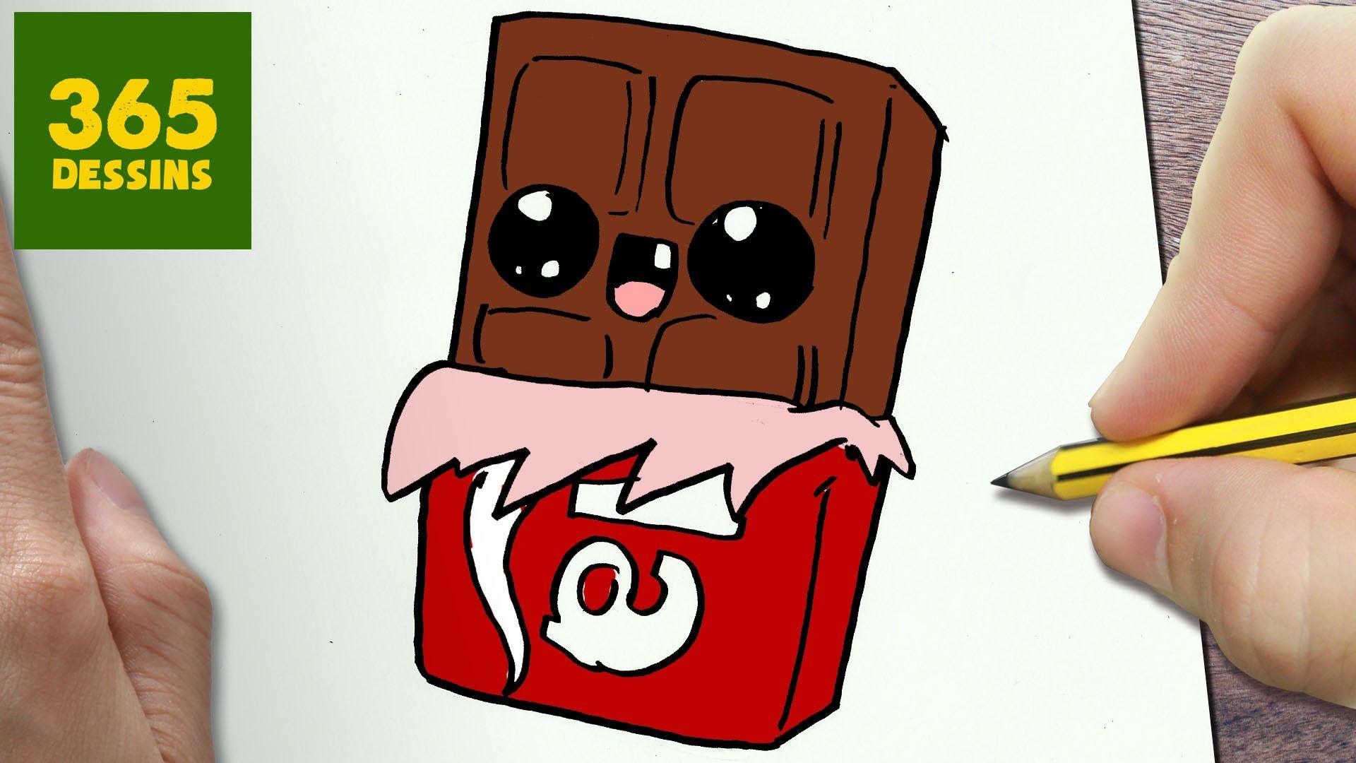 comment dessiner chocolat kawaii tape par tape dessins kawaii dessin perso pinterest. Black Bedroom Furniture Sets. Home Design Ideas