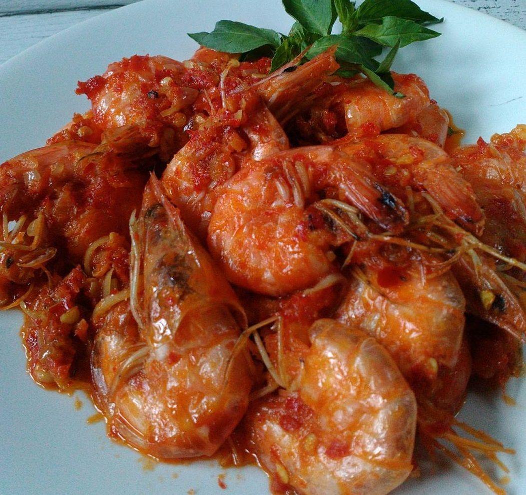 Resep Masakan Balado Udang Pedas Home Made Resep Masakan Masakan Resep Makanan