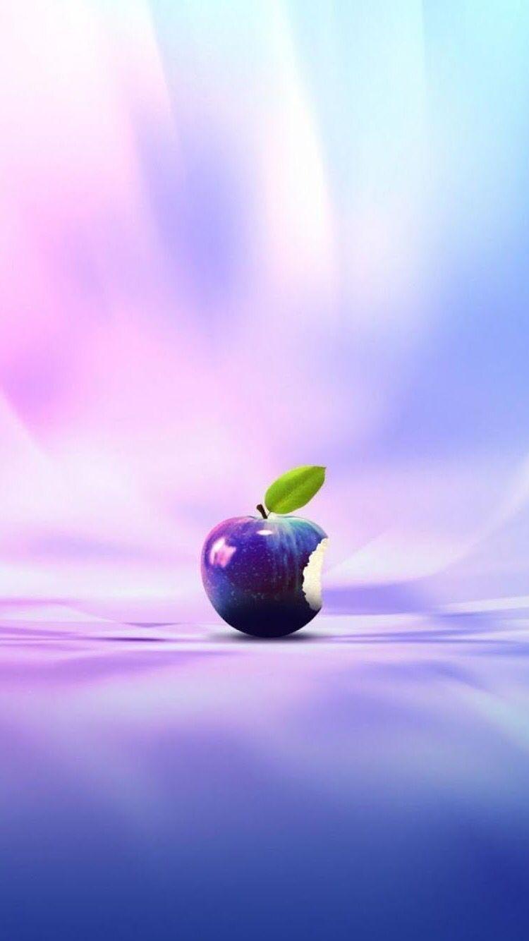 Iphone 6s Hd Wallpaper Purple Apple Wallpaper Iphone Apple Logo