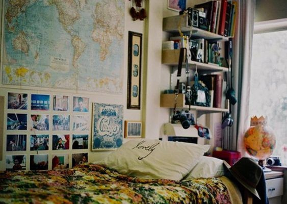 artsy indie hipster room ideas and cool decorating tips for hippie