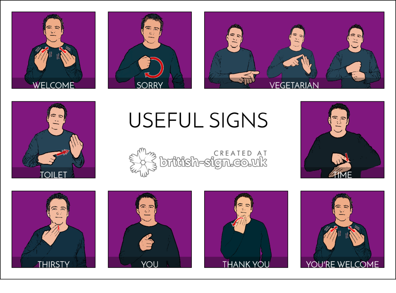 Coille Dithean More Hearing People Should Learn Some Sign Language So Here Are Some Actually