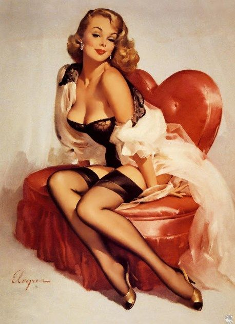 pin up kunst
