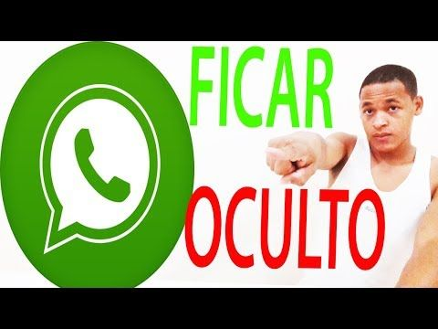 Como Ficar Oculto No Whatsapp Novo Metodo 2018 Youtube Dicas