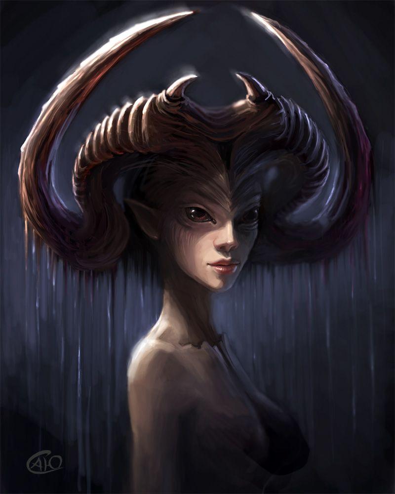 17++ Nature demon ideas