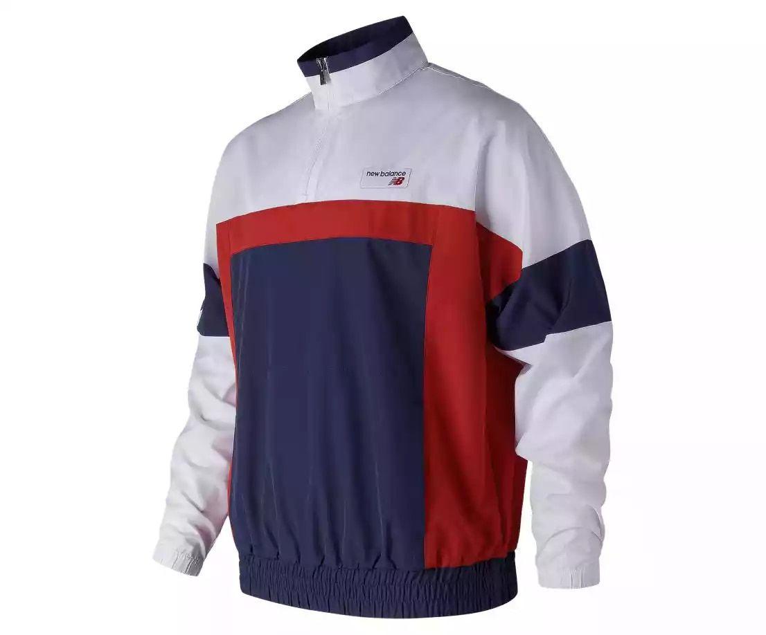 e531ea18f4553 NB Athletics Windbreaker Pullover - Men's 91528 - Tops, Lifestyle ...