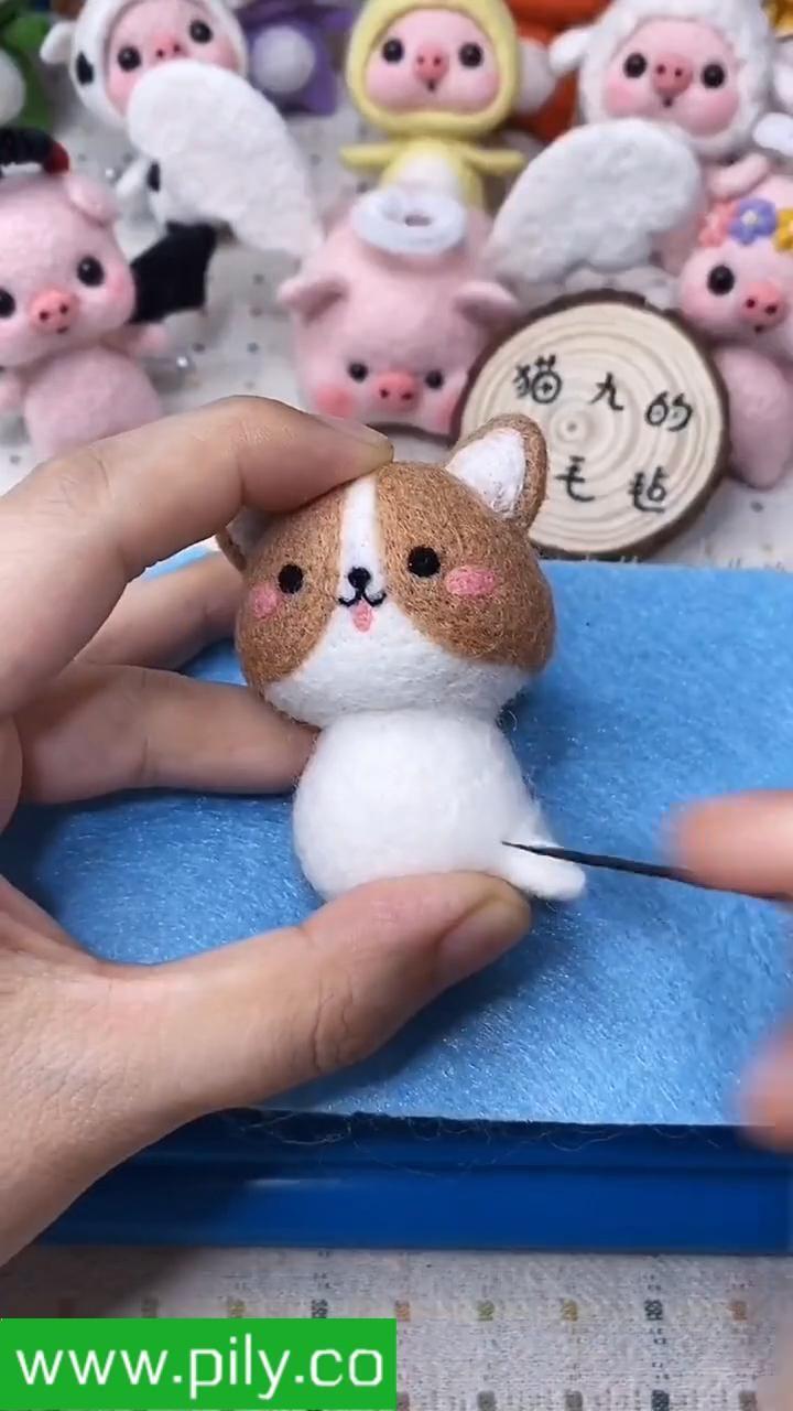 needle felting tutorials videos felt animals