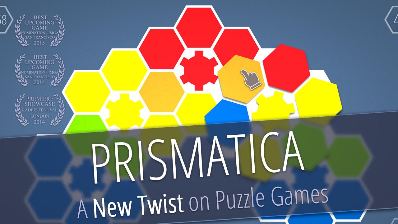 Prismatica is a unique puzzle game that revolves around