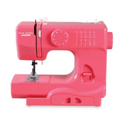 Janome Pink Lightning Portable Sewing Machine - BedBathandBeyond.com