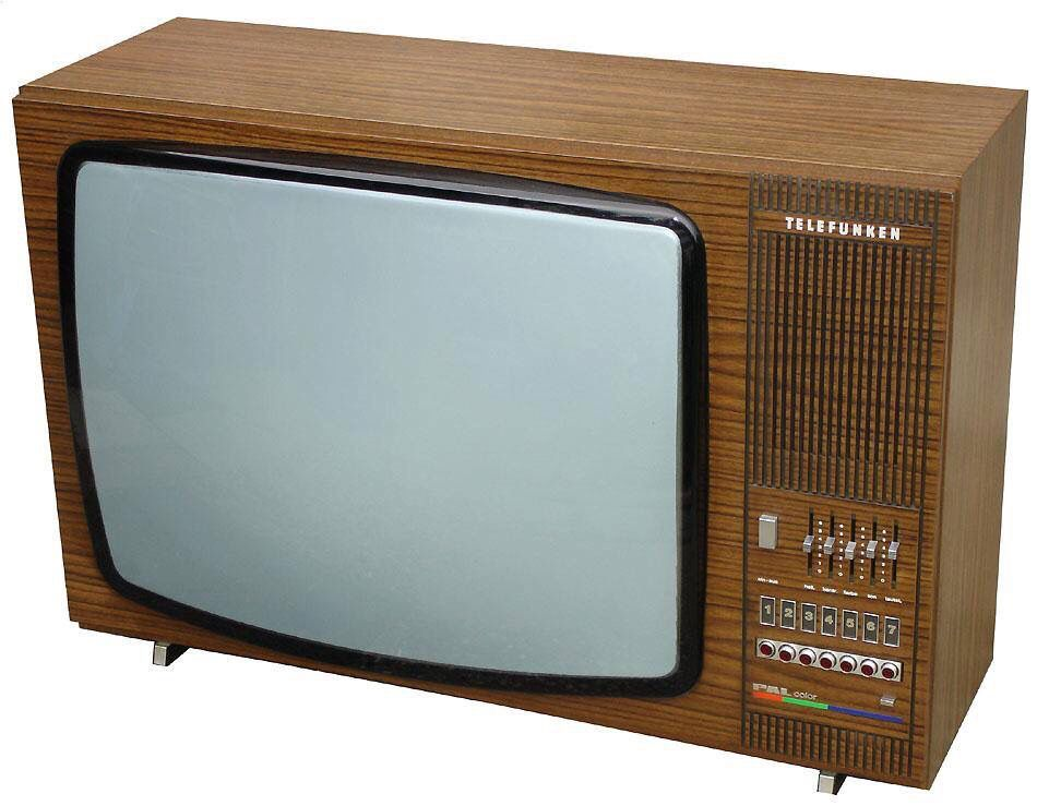 Telefunken Vintage Television Retro Radios Old Tv