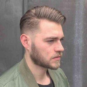 Style de coiffure homme calvitie