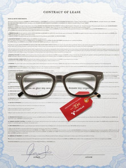 a150cd0396 Visionlab: Prescription Glasses, Lease Contract, #marketing #coolads  #advertising <<< repinned by www.BlickeDeeler.de