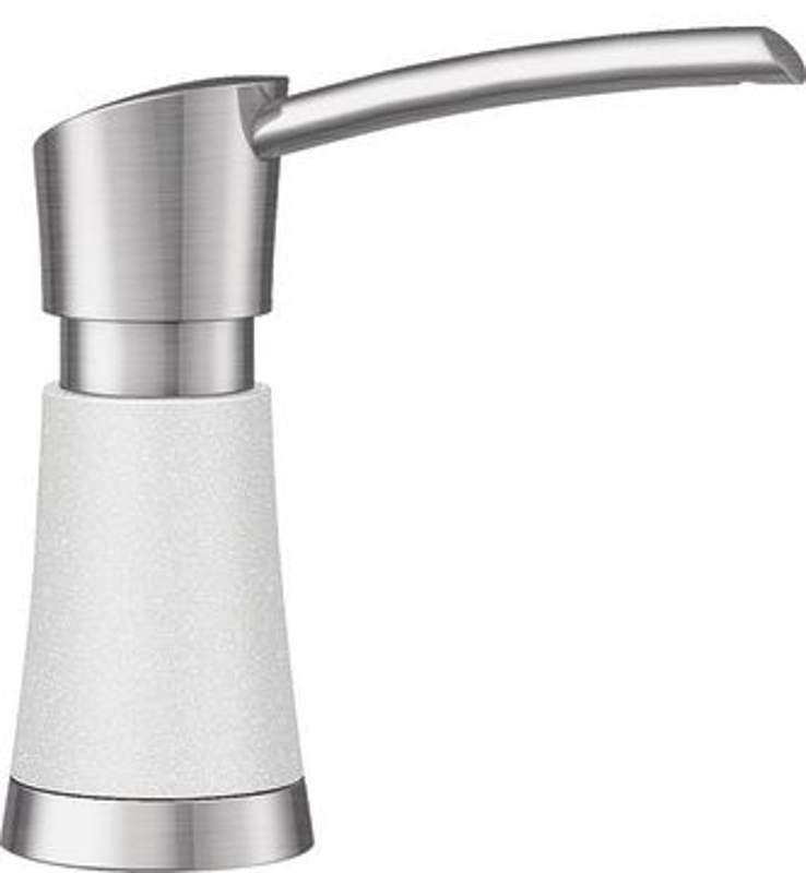 Blanco 442054 Artona Deck Mounted Soap / Lotion Dispenser Stainless ...