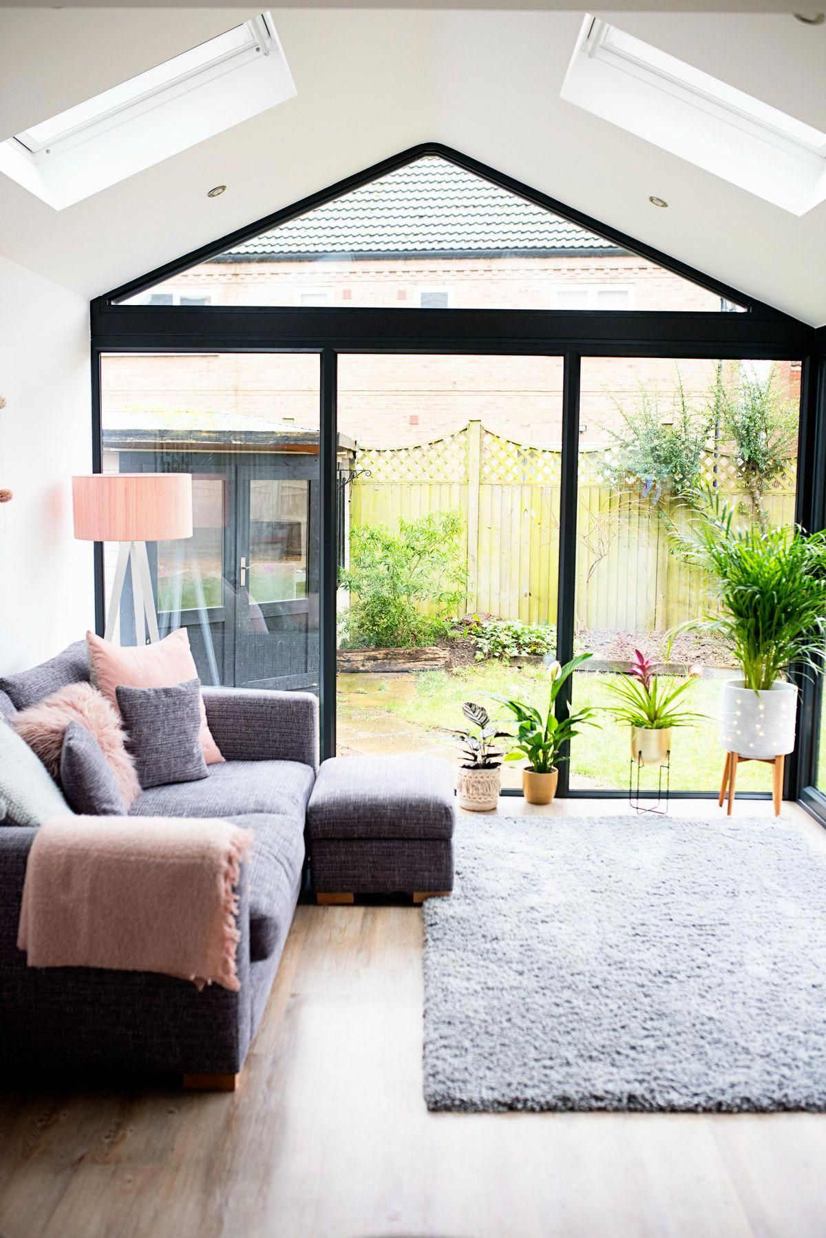 Our Modern Conservatory Extension Before And After Home