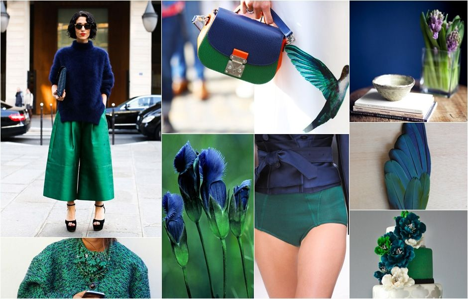 Best Color Combos awesome colour combinations: oxford #blue and emerald #green