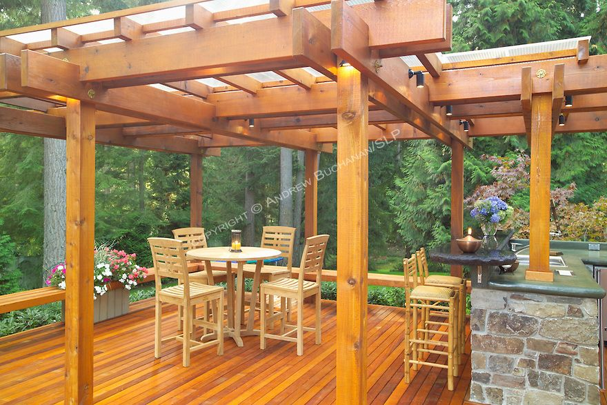 seattle outdoor kitchen - Google Search | Deck with ... on Back Deck Ideas For Ranch Style Homes id=66105