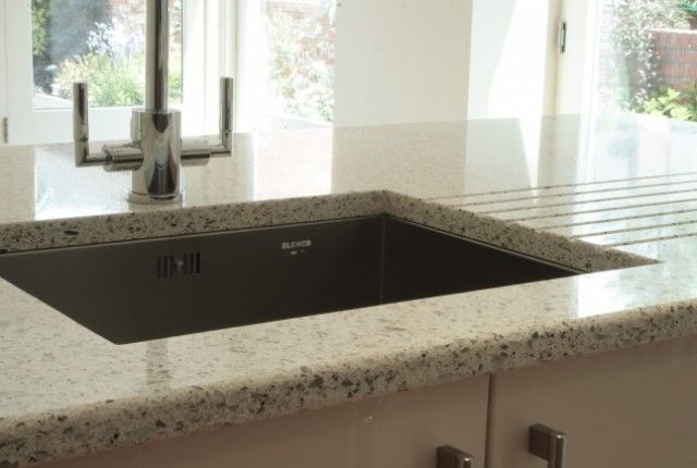 crushed recycled glass worktop sinks bath and showers