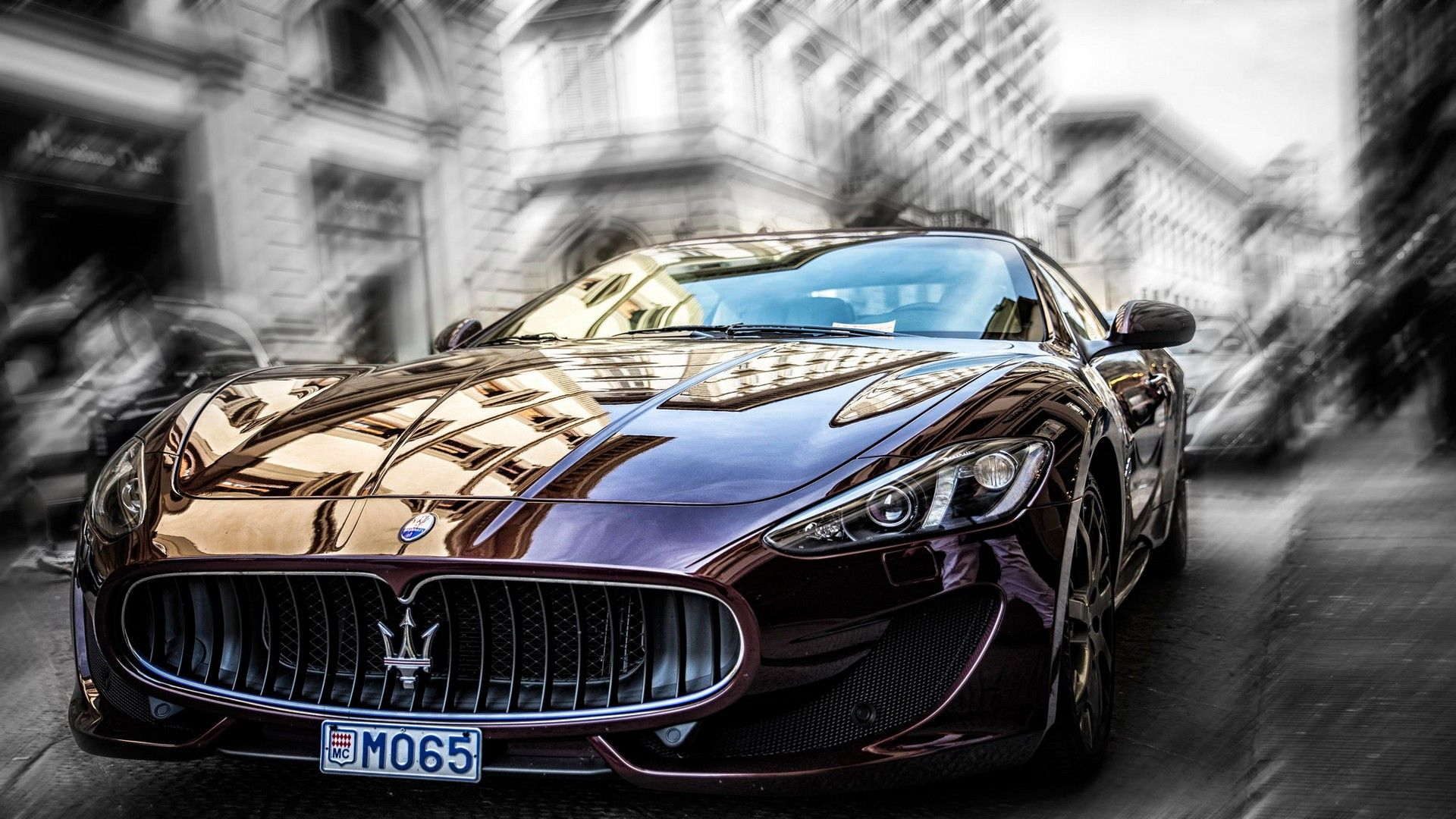 Maserati Granturismo S Mc Line Bw Cars Hd Wallpapers Maserati