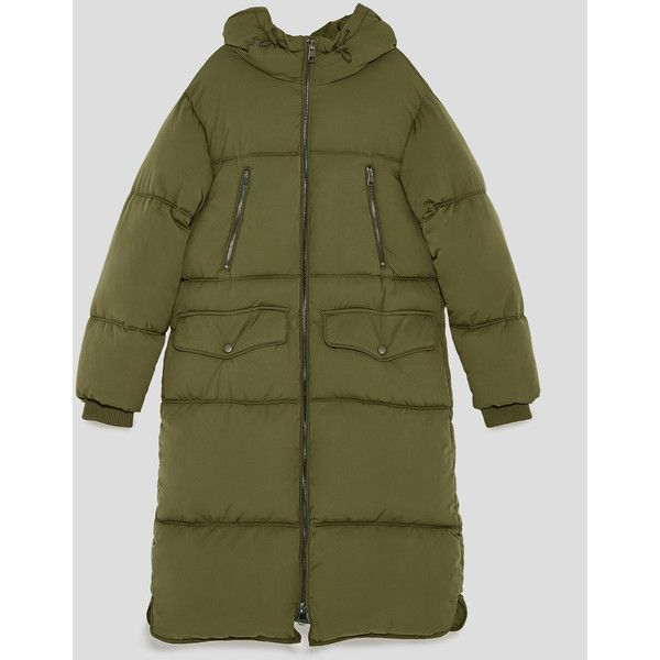 Long Oversized Puffer Coat Selected Items 40 Off Woman Zara Liked On Polyvore Featuring Outerwea Oversized Puffer Coat Puffer Coat Long Puffer Coat