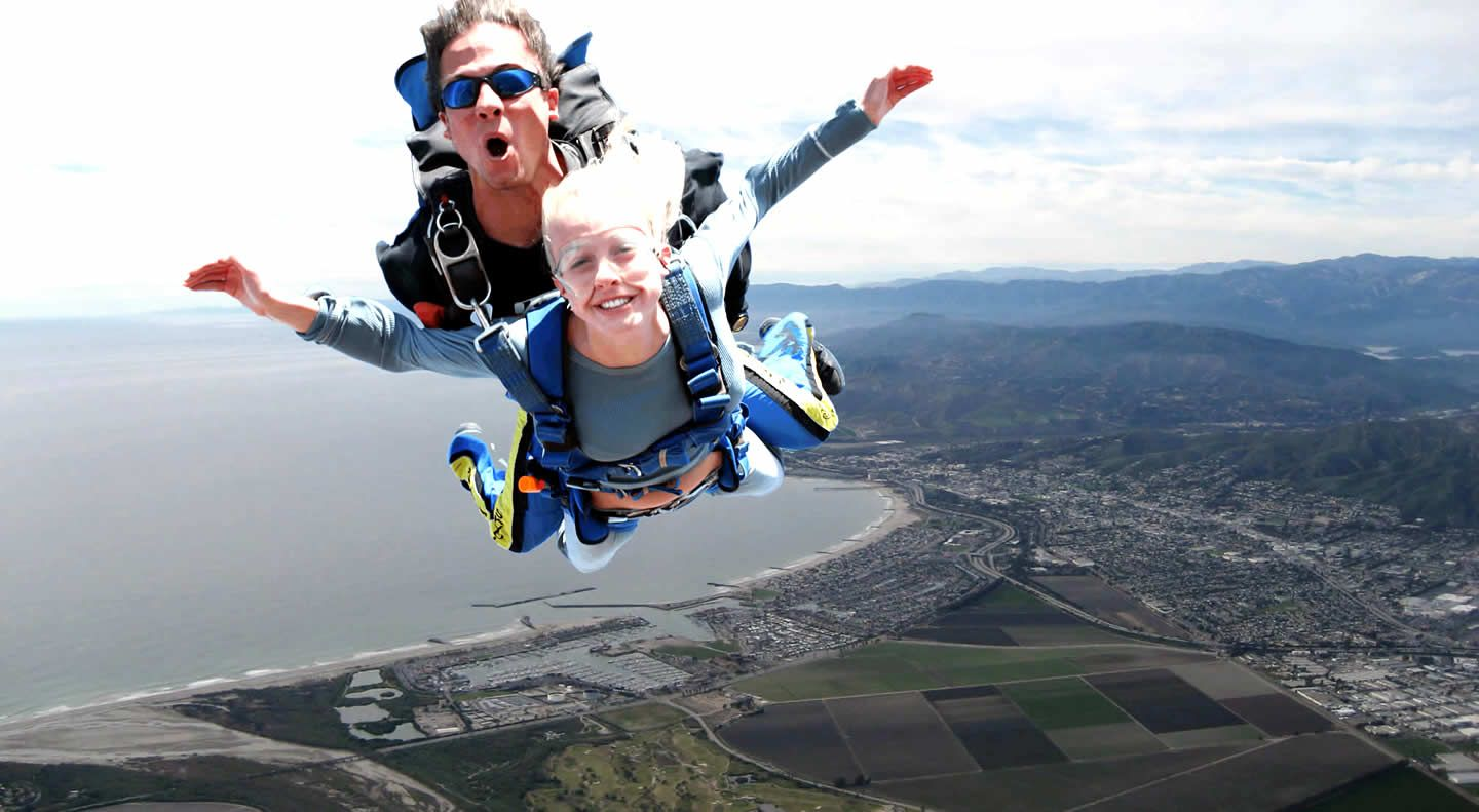 The Feeling Of Tandem Skydiving Adventure Tourism Skydiving Tourism