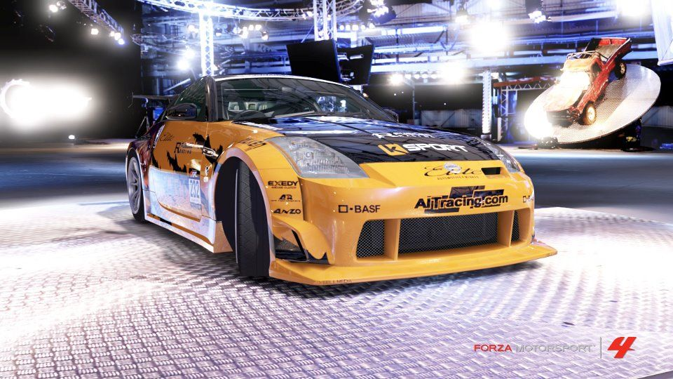 Forza Features Basf R M Ksport Orange Nissan Drift Car