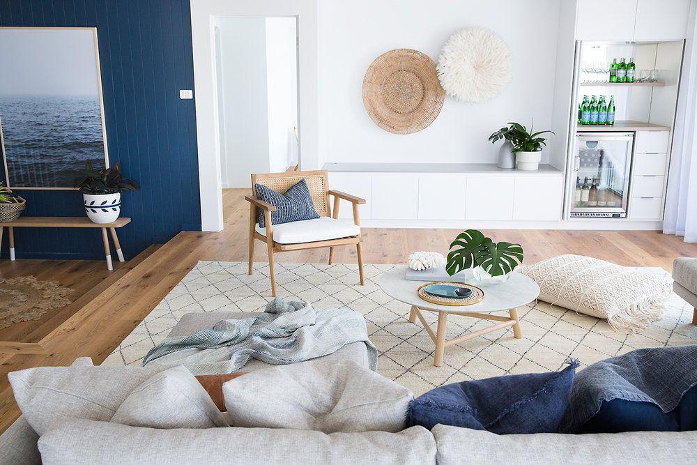 Designer Spotlight Australian Designers Cobalt Gold Coastal Living Rooms Beach House Decor Living Room Boho Beach House